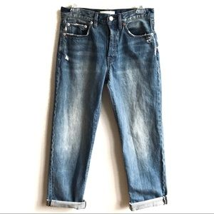 We the Free High Rise Universal Boyfriend Jeans 25